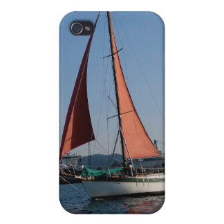 Red Sails Cases For iPhone 4