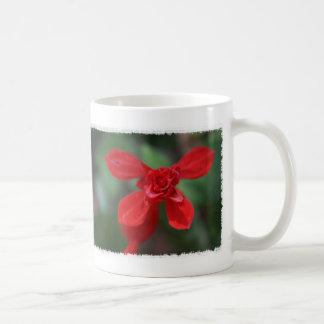 Red Salvia Mug