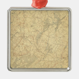 Red Sandstone, New Jersey 2 Christmas Ornament