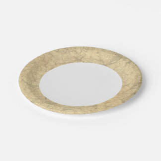 Red Sandstone, New Jersey 2 Paper Plate