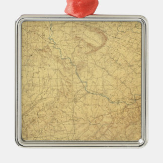 Red Sandstone, New Jersey Christmas Ornament