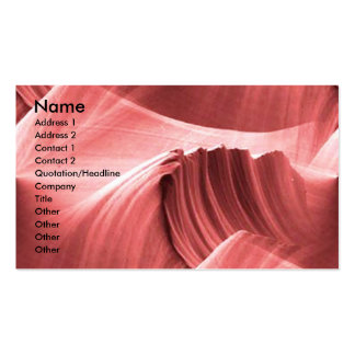 red_sandstone_scape Name Address 1 Address 2 Business Card Templates