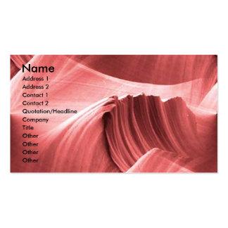 red_sandstone_scape, Name, Address 1, Address 2... Pack Of Standard Business Cards