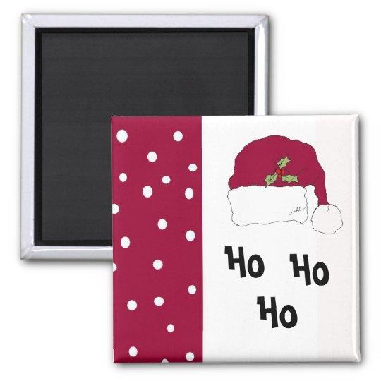 Red Santa Hat Magnet