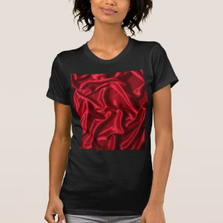 red satin-green heart T-Shirt