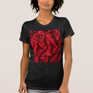red satin-green heart T-Shirt
