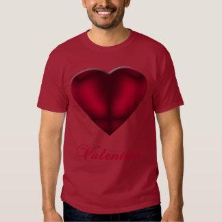 Red Satin Heart Shirt