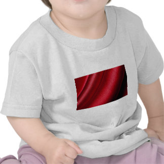 Red satin Photo T-shirts