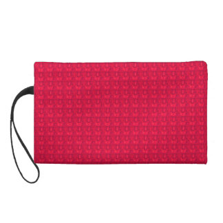 Red-Satin*Sueded_Bag Wristlet Clutches
