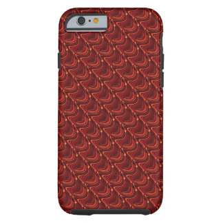 Red Scales iPhone 6 Case
