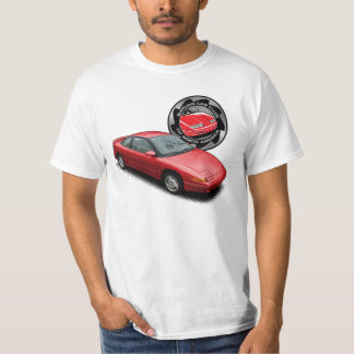 Red SCCNA 1991 Saturn Coupe T-Shirt