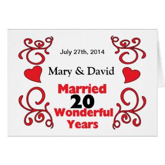 20 years wedding anniversary names