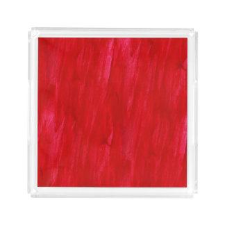 Red Seamless Background Abstract And Watercolor