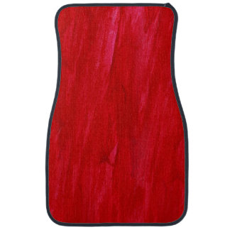 Red Seamless Background Abstract And Watercolor Car Mat