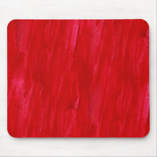 Red Seamless Background Abstract And Watercolor Mouse Pad