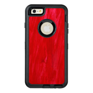 Red Seamless Background Abstract And Watercolor OtterBox iPhone 6/6s Plus Case