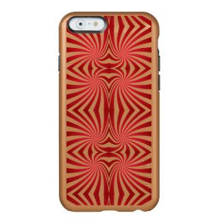 Red seamless swirl pattern incipio feather® shine iPhone 6 case