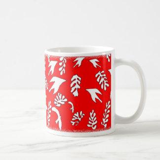 RED SEASCAPE COFFEE MUG