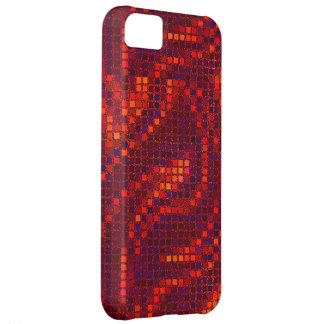 Red Sequin Effect Phone Cases iPhone 5C Case