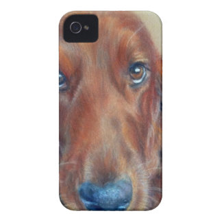 Red setter dog iPhone 4 cover