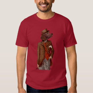 Red Setter Rider Portrait Tees