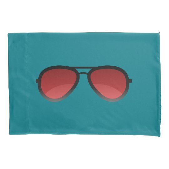 Red Shades Pillow Case