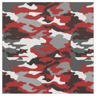 Red Shadows Camo Fabric