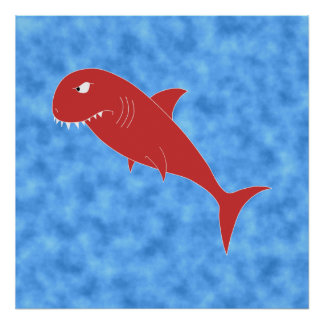 Red Shark. Posters