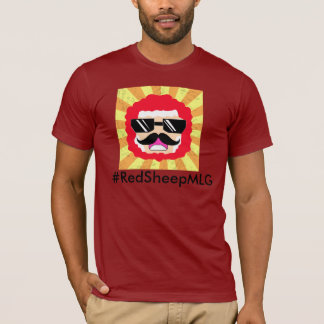 Red Sheep the epic Major League Gamer  & YouTuber T-Shirt