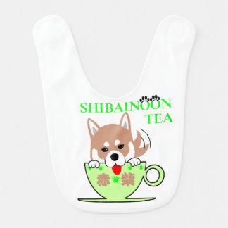 Red Shiba Inu Bib