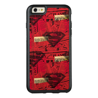 Red Shield Pattern OtterBox iPhone 6/6s Plus Case