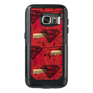 Red Shield Pattern OtterBox Samsung Galaxy S7 Case