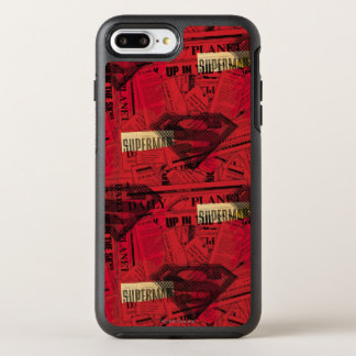 Red Shield Pattern OtterBox Symmetry iPhone 7 Plus Case