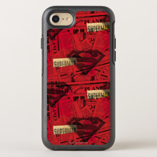 Red Shield Pattern OtterBox Symmetry iPhone 8/7 Case