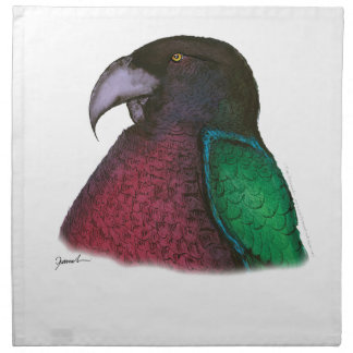 red shining parrot, tony fernandes napkin