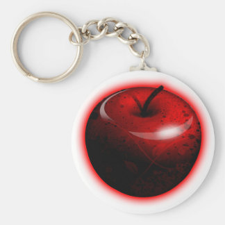 Red Shiny Apple - Forbidden Fruit Keychains