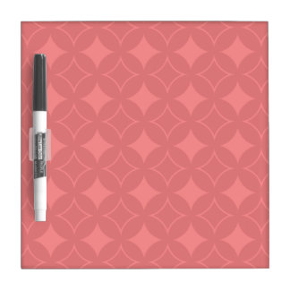 Red shippo pattern Dry-Erase boards