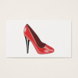 Red Shoe Business Card
