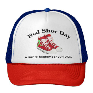 Red Shoe Day, Lyme Awareness Hat
