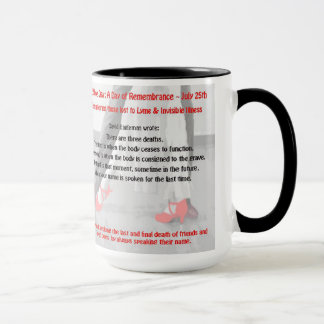 Red Shoe Day Lyme Disease Awareness Cup