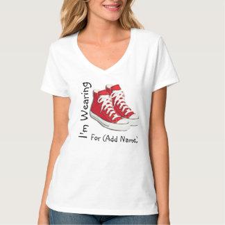 Red Shoe Day Lyme Disease Awareness Shirt