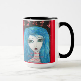 Red Shoe Day Lyme Patient Art Mug