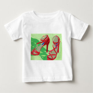 Red Shoes Baby T-Shirt
