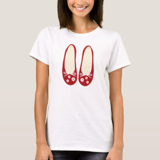Red Shoes ladies top. T-Shirt