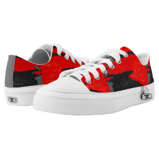 """""""RED SHOES"""" LOW TOPS"""