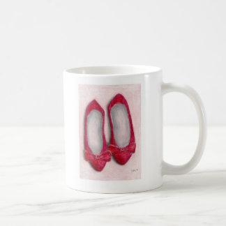 Red Shoes Basic White Mug