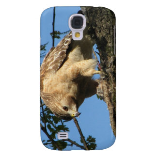 Red Shouldered Hawk with Prey Samsung Galaxy S4 Cover