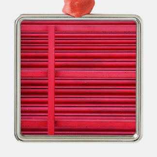 Red Shutter.jpg Christmas Ornament