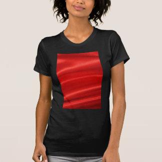 Red silk background shirt