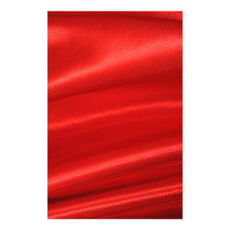 Red silk background stationery